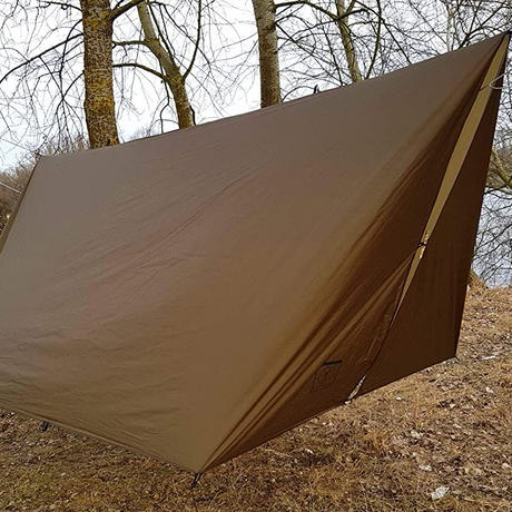 BUSHMEN travel gear, Tarp ULTRALIGHT 3 x 3