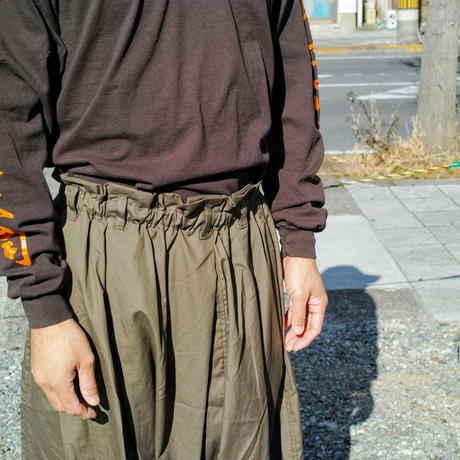 Monitaly, Harem Pants - Vancloth Oxford -