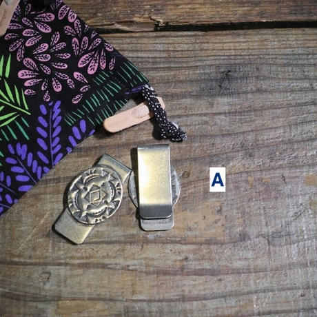 Yuketen,CONCHO MONEY CLIP