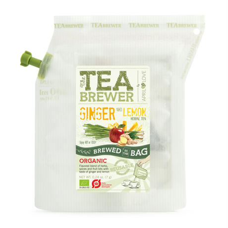 TEA BREWER   【Ginger and Lemon Herbal Tea】