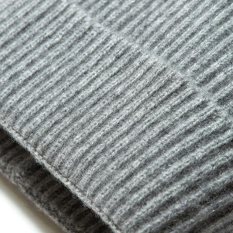 SIDE SLOPE, Knit Cap CASHMERE 100%