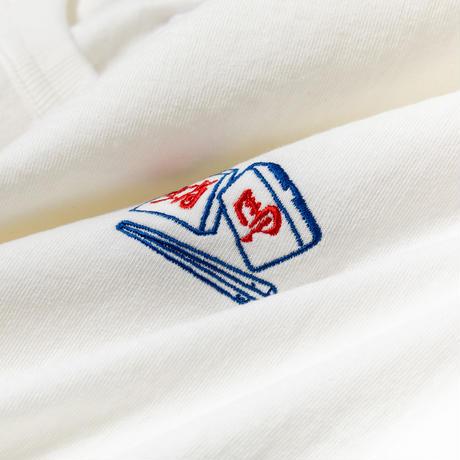 TACOMA FUJI RECORDS, CHOPSTICKS CRISIS LS embroidery shirt