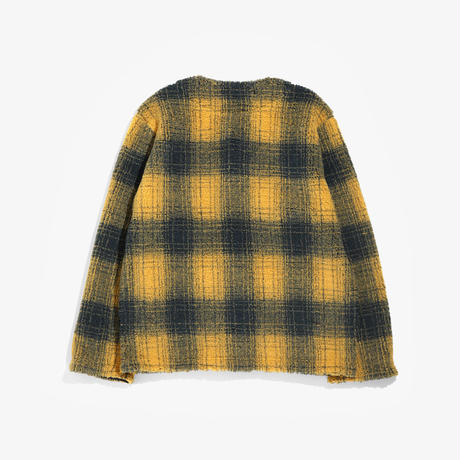 South2 West8,P.P. Cardigan/Boa Ombre Plaid