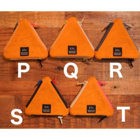 EYL × Mountain Mountain,triangle coin purse,Paraffin cotton