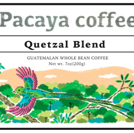 Quetzal Blend 200g /Pacaya Coffee
