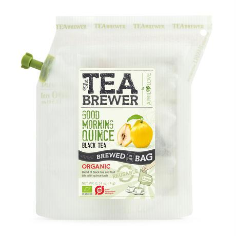 TEA BREWER  【Good Morning Quince Black Tea】