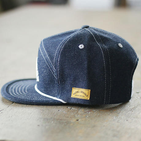 NATAL DESIGN,GOOD BOY CAP DENIM
