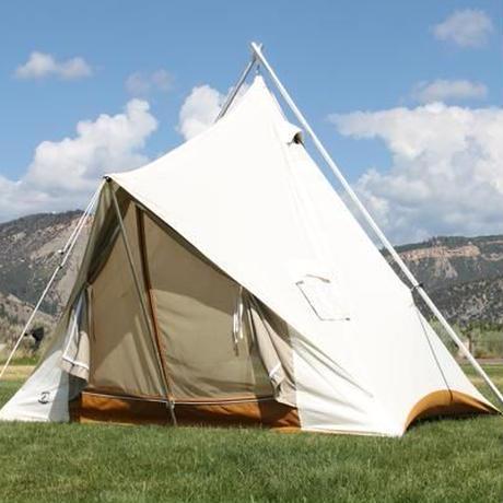 Ellis Canvas Tents, The Prairie Tent 12ft x 12ft フロアー脱着式