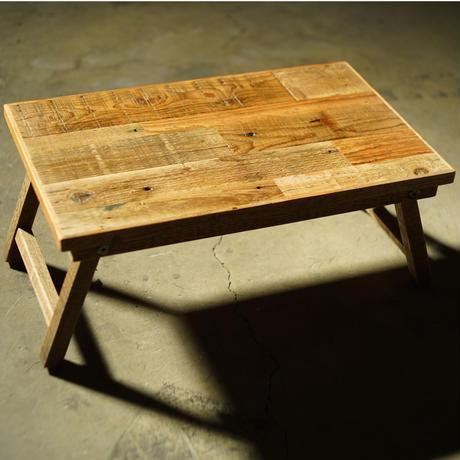 woodlifeservice, フォールディングテーブルS パッチワーク