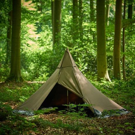 <受注生産商品> Tschum チャン, 2P SOSWA tent, nut brown