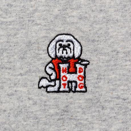 TACOMA FUJI RECORDS, HOT DOG LS embroidery shirt