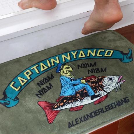 AlexanderLeeChang,CAPTAIN NYANCO BATH MAT