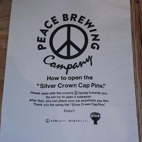 BROWN by 2-tacs x tennesea Silver Crown Cap pins