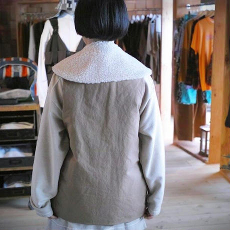 ASEEDONCLOUD, Lifesaving vest Oiled sail cotton