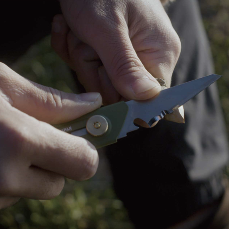OLFA WORKS, 替刃式ブッシュクラフトナイフ