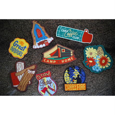 Kimberlin Co. PATCH - CAMP - 8種類