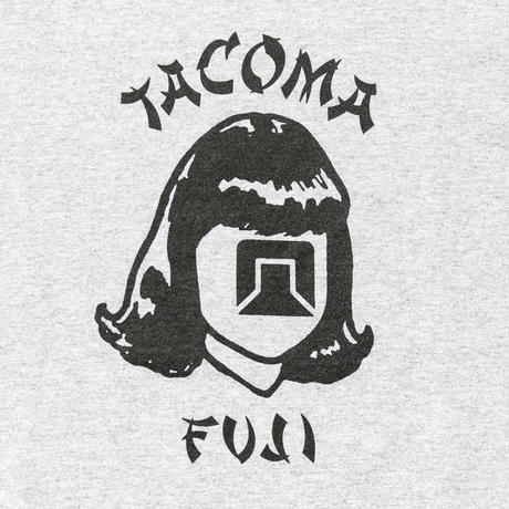 TACOMA FUJI RECORDS, ORIENTALES LS SHIRT,HEATHER GRAY