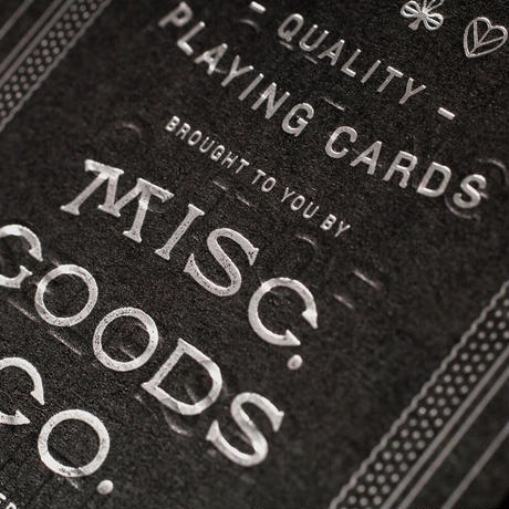 MGCO, Playing Cards
