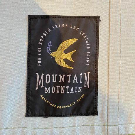 MOUNTAIN MOUNTAIN BEDWIN TARP  3×4 専用収納袋 (Natural White×Green /サンブレラバージョン)
