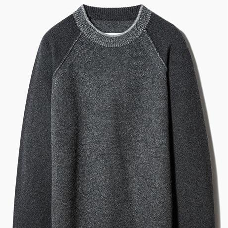 SIDE SLOPE, Knit Pullover CASHMERE 100%