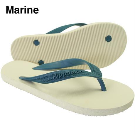 Hippobloo,ビーチサンダル, Marine, エンボス型