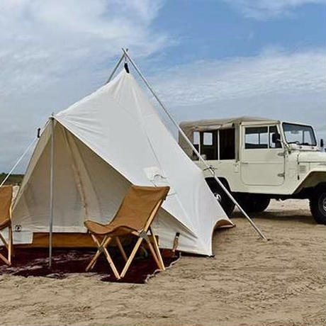 Ellis Canvas Tents, The Prairie Tent 12ft x 12ft フロアー一体型