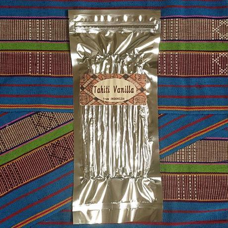 インドネシア産 バニラビーンズ(タヒチタイプ) 100g