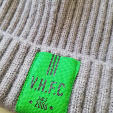 ニット帽 (タグ:緑)