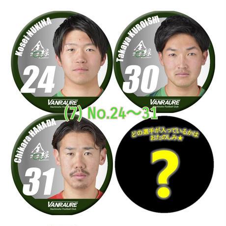 2020シーズン 選手バッジ(4個セット)