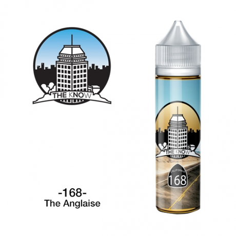 FONTE VAPE CO / THE KNOW - 168 The Anglaise 60ml