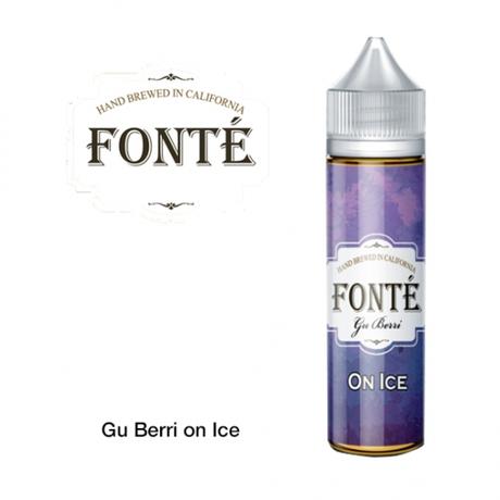 FONTE VAPE CO / Gu Berri On Ice 60ml