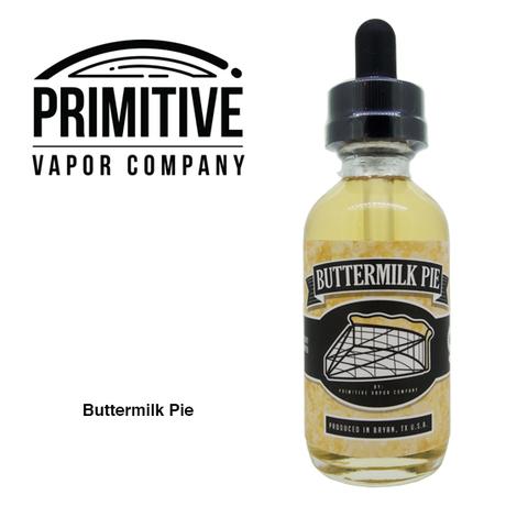 PRIMITIVE VAPOR CO. / Buttermilk Pie 60ml