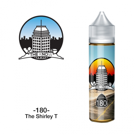 FONTE VAPE CO / THE KNOW - 180 The Shirley T 60ml