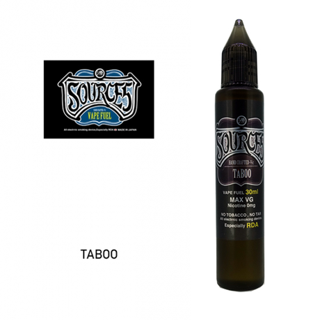 SOURCE5 / No.012 TABOO 30ml