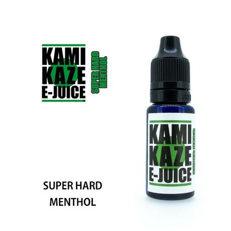 KAMIKAZE E-JUICE / SUPER HARD MENTHOL 15ml