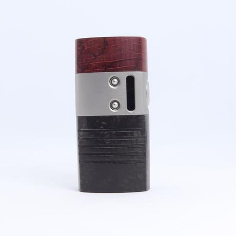 Mellody Box Mod V2 ハンドメイド スタビライズドウッド 18650 バッテリーDNA60 chip sn312