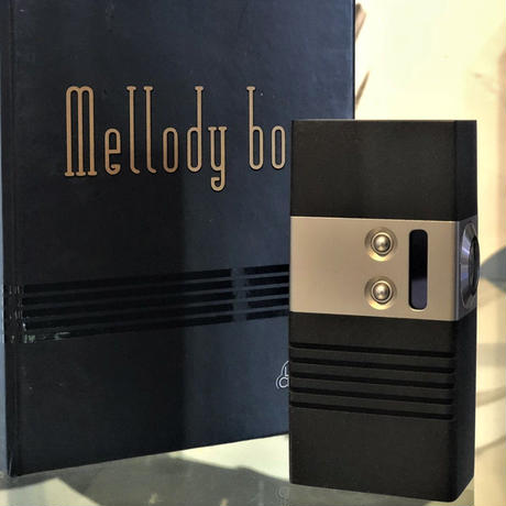Mellody Box mod BTTO Black Delrin モデル DNA60 18650 size