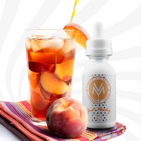 【紅茶】【フルーツ】VAPE MODELS LIQUID JUST PEACHY 30ML MAX VG 全3種(J117)