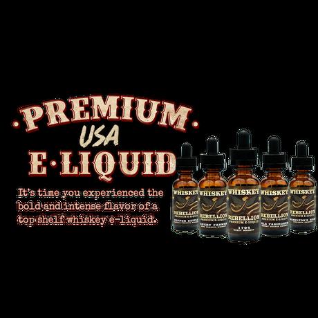 【ウイスキータバコ】Whiskey Rebellion USA Eliquid 30ml