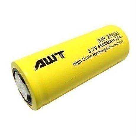 AWT 26650 75A IMR 4500mAh 3.7v  Li-Mn Rechargeable Battery
