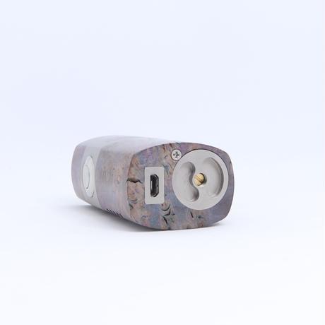 Mellody Box Mod V2 ハンドメイド スタビライズドウッド 18650 バッテリーDNA60 chip sn313