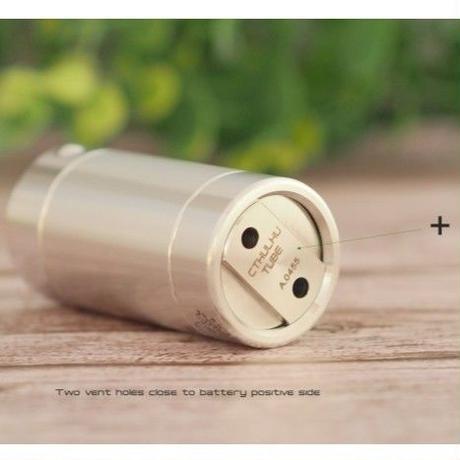 ベイプ 電子タバコ MOD クトゥルフ モッド CTHULFU 18650 18350 チューブ モッド 基盤付き サイドスイッチ 24mm モッド