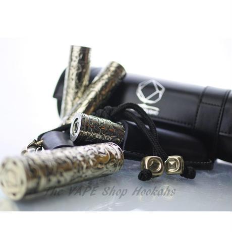 【フルメカニカル】AFK Studio mods White Copper mech mod 24mm 18650 size ホワイトカッパー