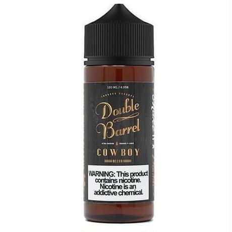 【タバコリキッド】 ダブルバレル 120ml  cowboy(アメリカタバコ) Double Barrel Tobacco Reserve