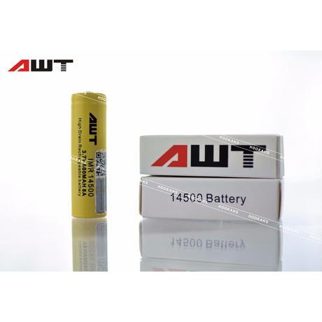 AWT 14500   8A IMR 600mAh 3.7v Li-Mn Rechargeable Battery