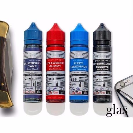 【スイーツ】【フルーツ】【タバコ】GLAS BASIX E-LIQUID 60ml 全3種 【J304】