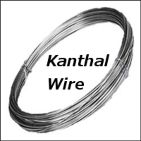 極太カンタルワイヤー A-1 Kanthal wire 5M = (20AWG 0.8mm 22AWG 0.64mm/24AWG 0.51mm/26AWG 0.4mm)