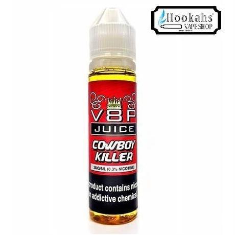 タバコの葉を燃やしてる!?リアルな香りのちょい甘タバコフレーバー V8P JUICE COWBOY KILLER 60ml
