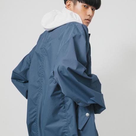LONG COAT / navy