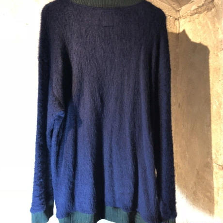 SHAGGY TURTLE KNIT / navy